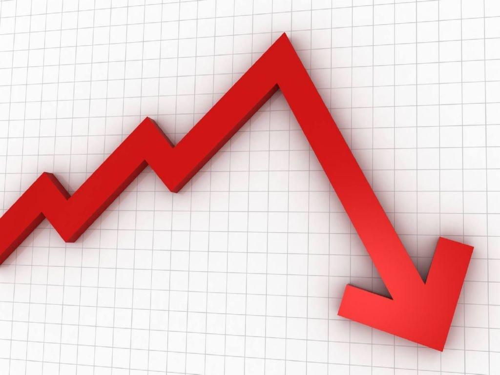 La deflacion se produce cuando un exceso del producto y una baja demanda
