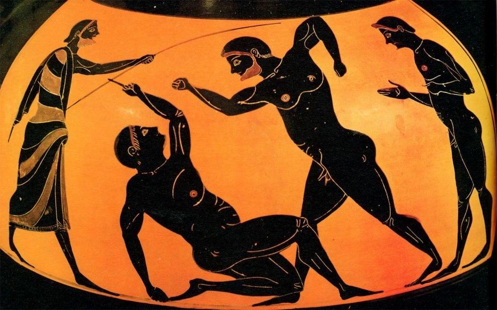 En la antigua grecia consideraban el arte como una forma de inspiracion divina