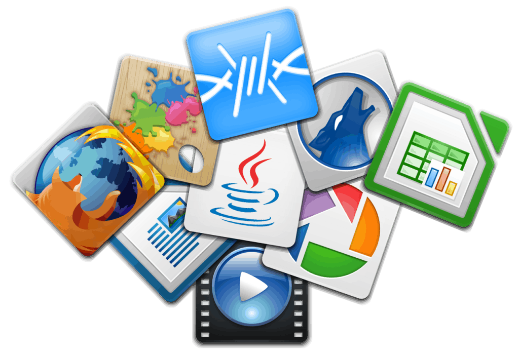 Ejemplos de diferentes tipos de programa que puede utilizar un ordenador hoy en día