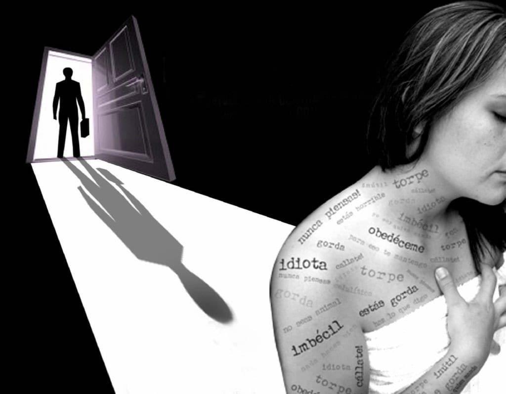 La violencia psicologica se realiza a traves del trato vejatorio de palabras