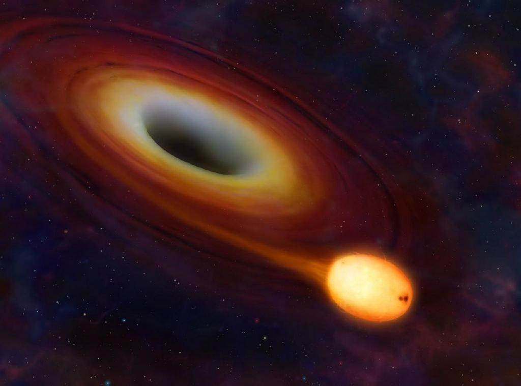 Qué es un agujero negro?