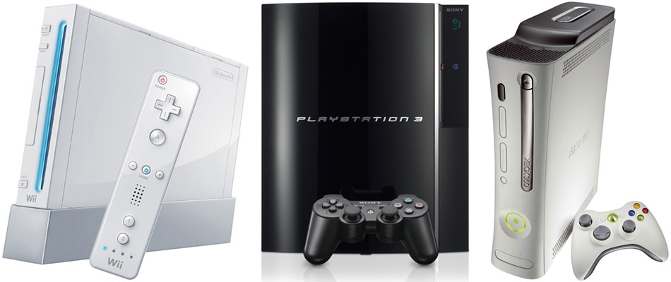 Xbox 360, Wii, PS3