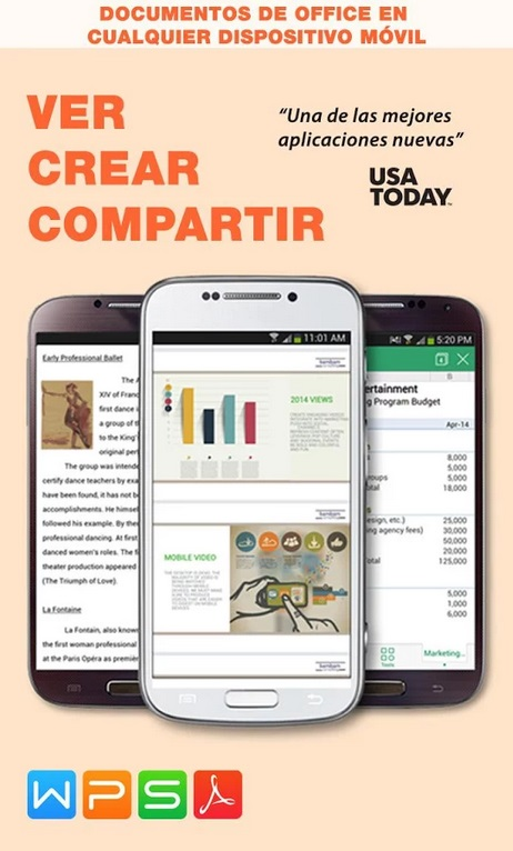 WPS Office mejores aplicaciones Android