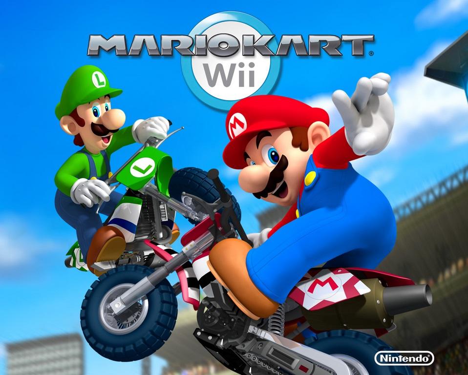 Videojuegos mas vendidos de la historia Mario Kart Wii