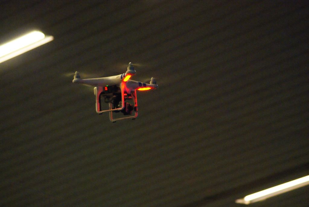 Los drones volaron en Campus Party.