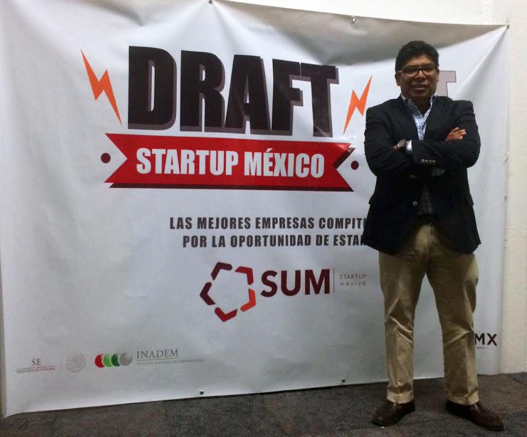 Pablo Rena comparte su experiencia a quienes quieran entrar a Startup México. Imagen: Mayoreo Total
