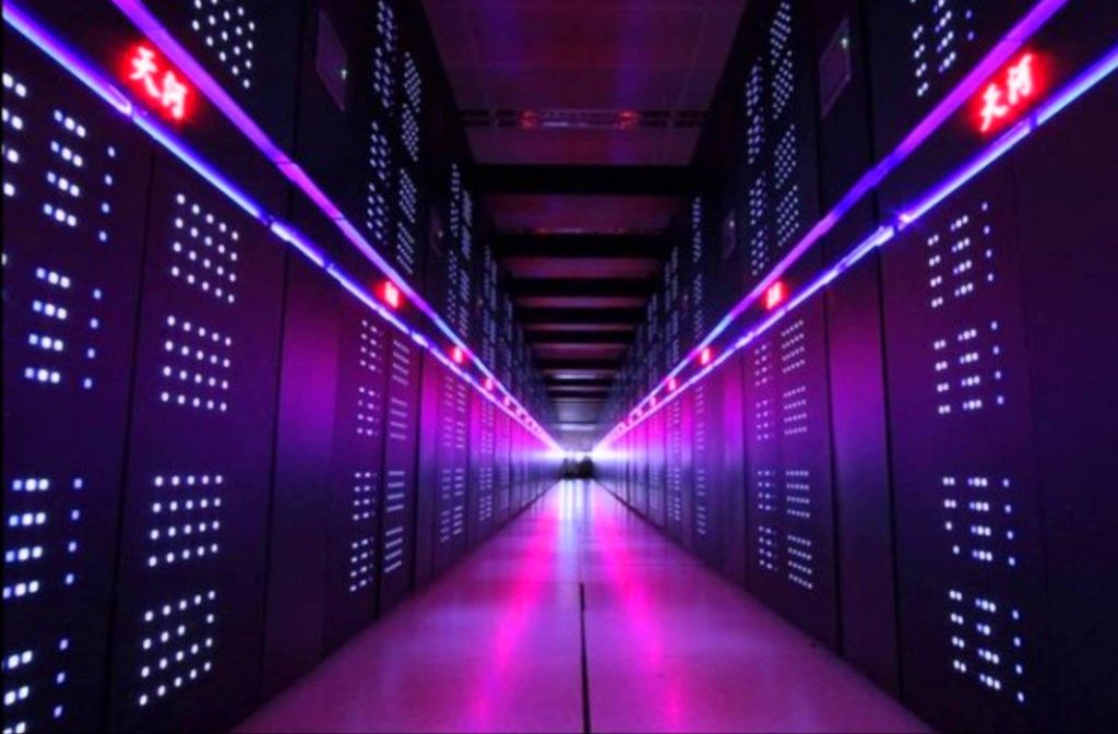 La supercomputadora Tianhe-2 está ubicada en China.