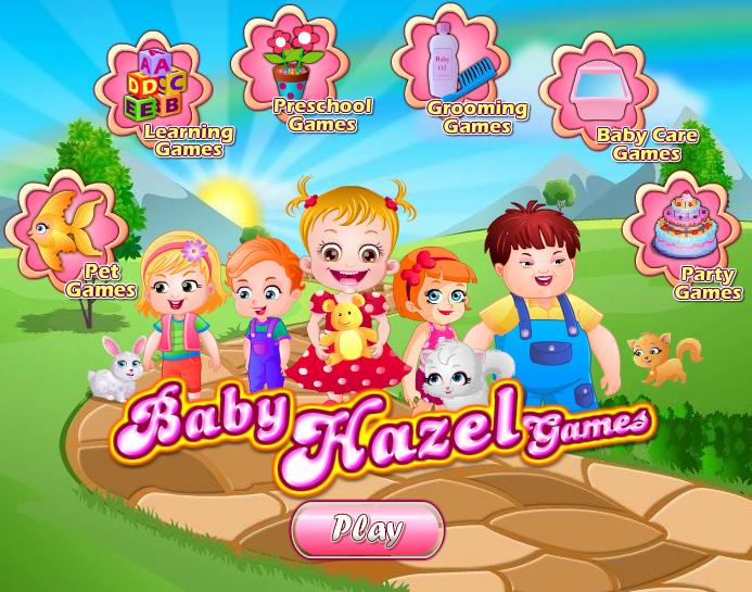 baby hazel juego